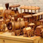 اسباب بازی چوبی