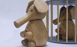 قیمت اسباب بازی حیوانات چوبی